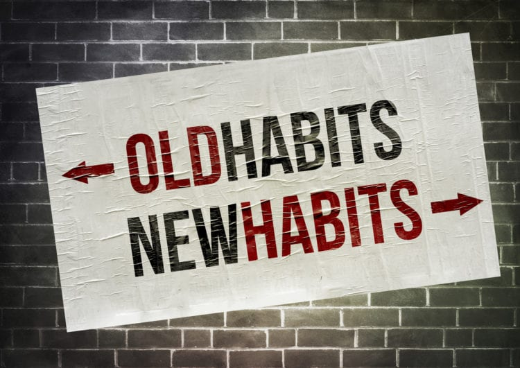 On a scale of 1 to 10 (10 hardest), how hard is it for you to change a habit?