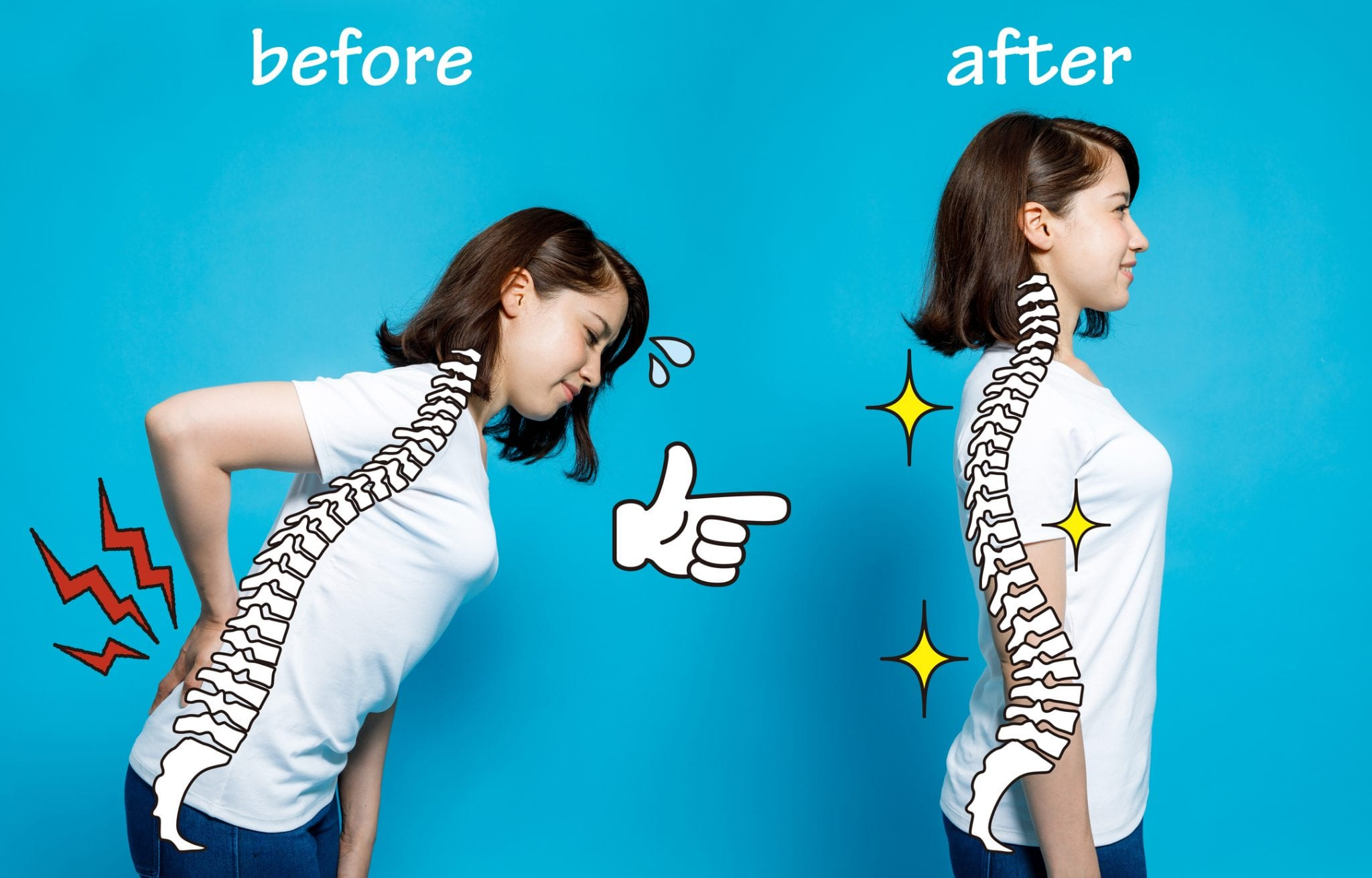 Can you tell if your back curves are normal?