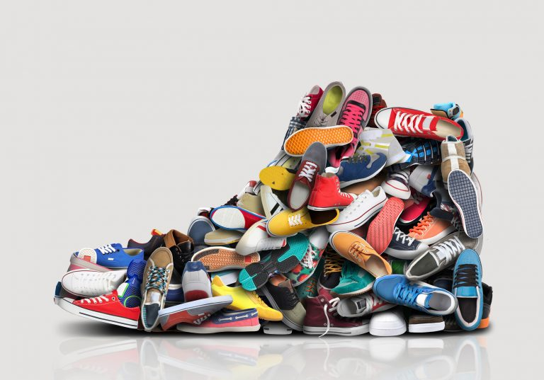 Walking Shoes, Running Shoes, or Nothing?